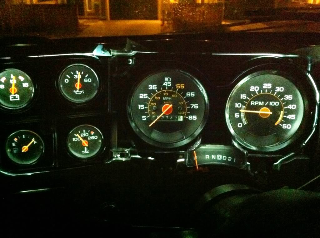 My Junior Year Led Interior Lights Page 2 Gm Square Body 1973