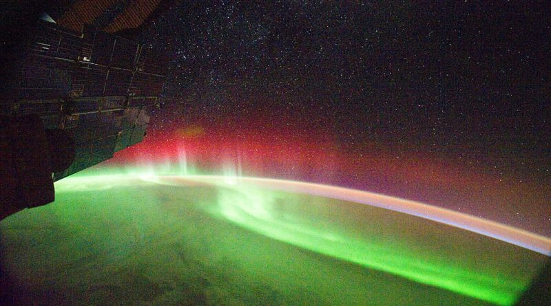 Aurora Seen From Space by NASA
