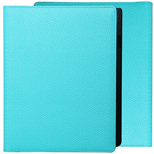 PU Leather Professional Zippered Padfolio folder for Interview