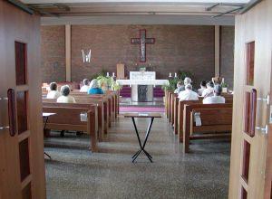 Mass during Evangelization School