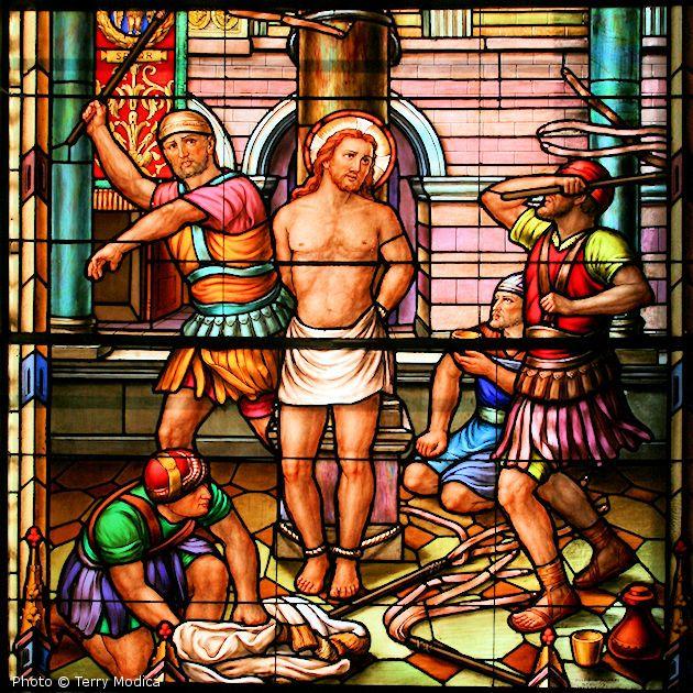 Jesus scrouged
