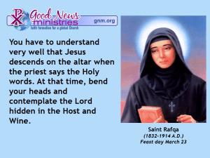Saint Rafqa