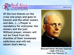 Blessed Father Michael Sopocko