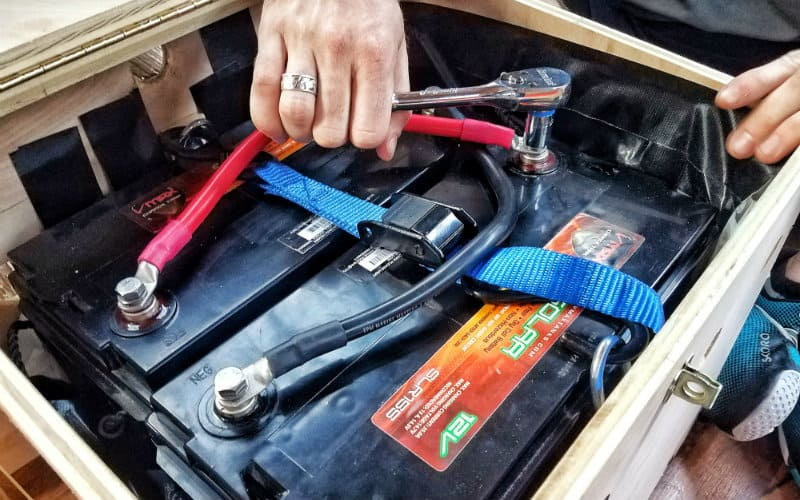 Epic Guide to DIY Van Build Electrical How to Install a Campervan