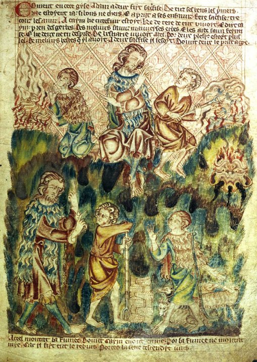 Cain Holkham Bible Picture Book of c.1320 30 727x1024 The BirthMark of Cain