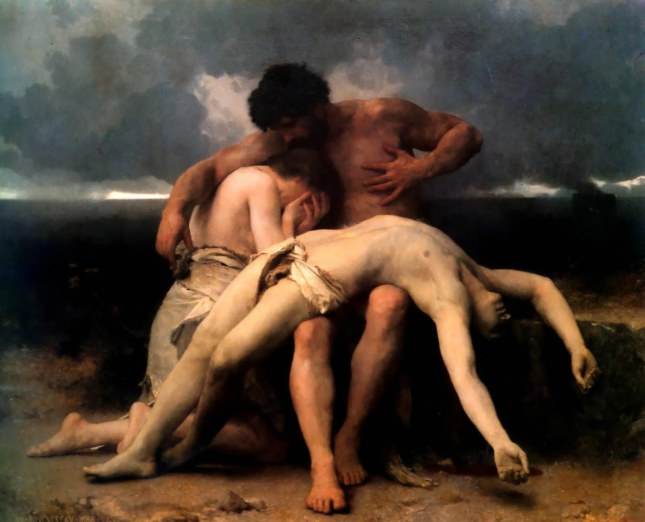 Cain and Abel Bouguereau The First Mourning 1888 1024x828 The BirthMark of Cain