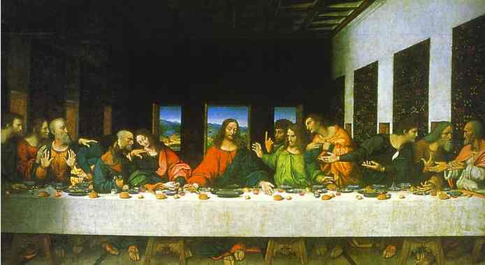 Leonardos Last Supper The BirthMark of Cain
