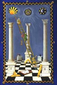 Jacobs ladder masonic pillars 201x300 Who is Lucifer?