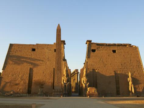 Obelisk Thebes Ramesses III