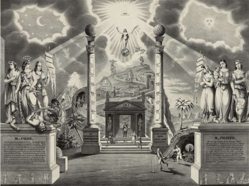 Atlantis freemason pillars The Lost Tribe of Judah in Ireland