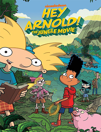Poster de Hey Arnold: The Jungle Movie
