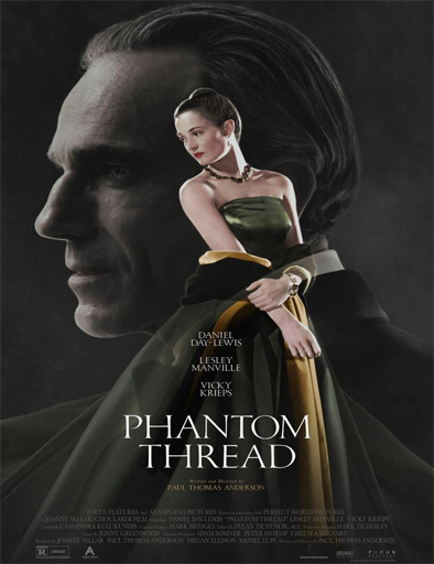 Poster de Phantom Thread (El hilo fantasma)