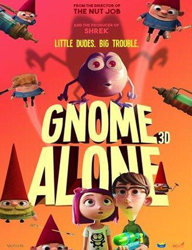 Poster de Gnome Alone (Gnomos al ataque)