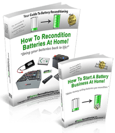Battery Reconditioning - How o Never Pay For New Batteries Ever Again!