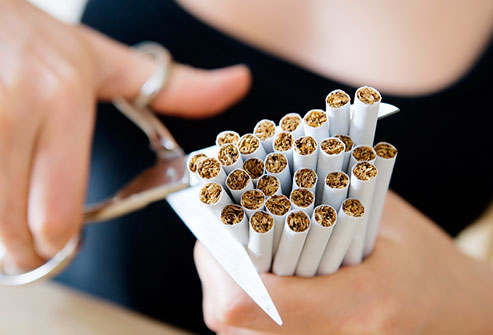 New Year's Resolution Ideas And How To Achieve Them -Give up cigarettes