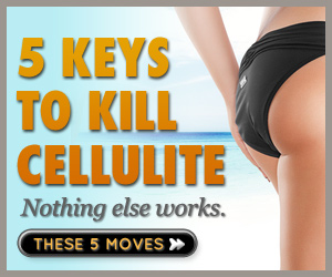 5 keys to kill cellulite - Get rid of cellulite