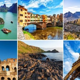 Travel destinations 2016
