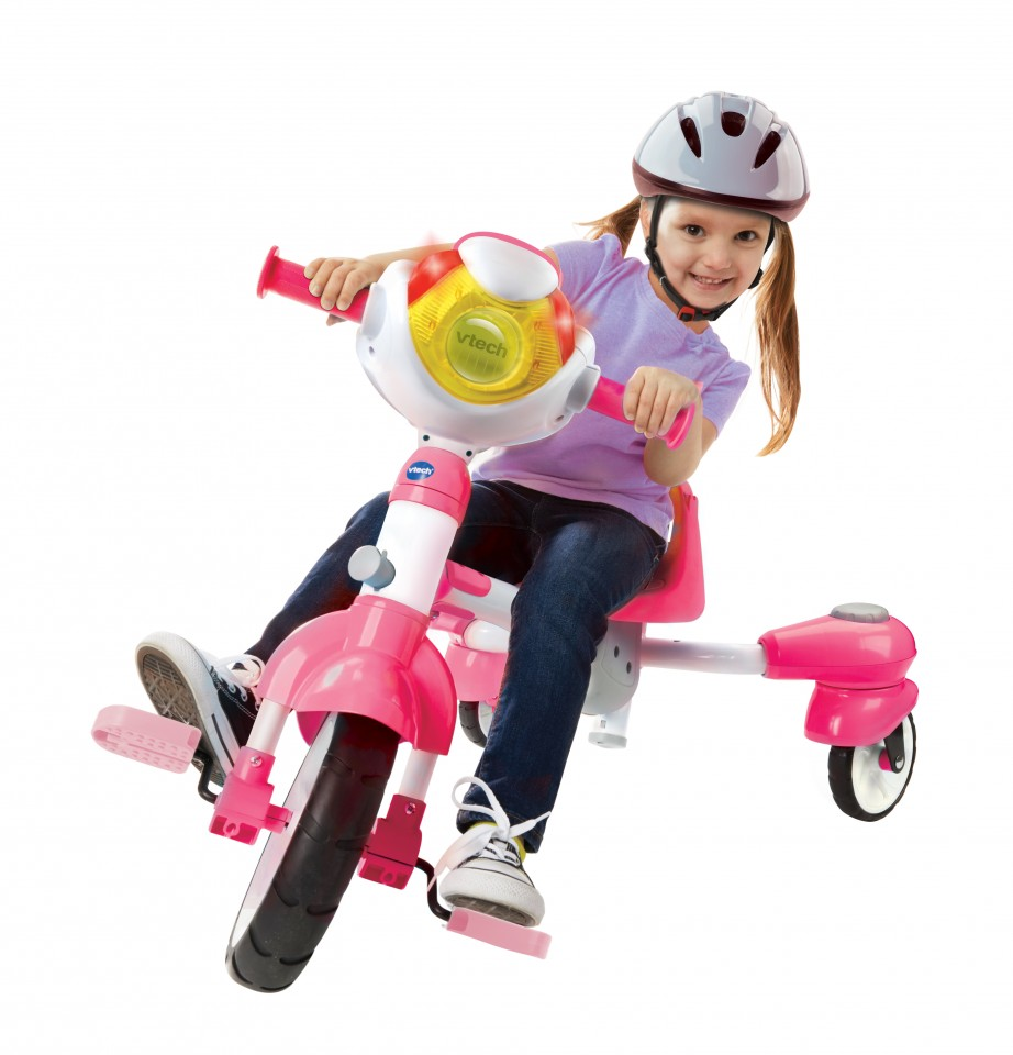 Smart Trike Roze Review Vtech Super Trike 4 In 1 Winactie Go Or No Go