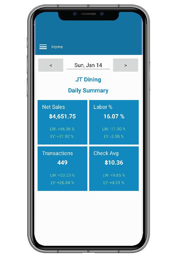 Mobile Apps QSROnline - Restaurant Management Software