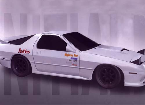 Best Anime Wallpaper Engine Initial D World Pictures Gallery Mazda Savanna Rx 7 Fc3s
