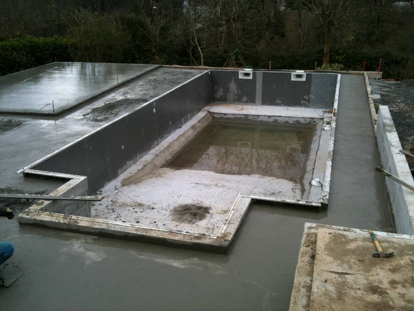 Abords De Piscine Aménagement Des Abords D Une Piscine à Quimper Goalabre Construction