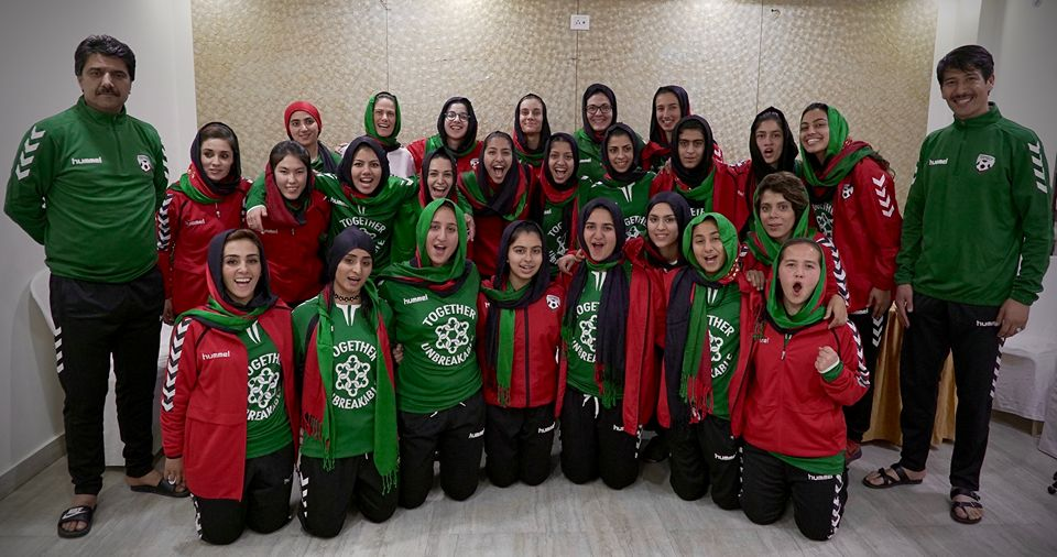 Afghan women's football