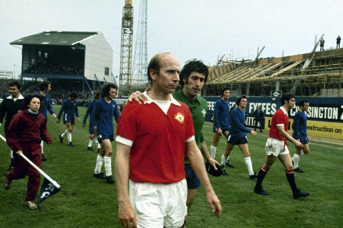 April 28th. 1973 : Bobby Charlton's last game for United at Stamford Bridge