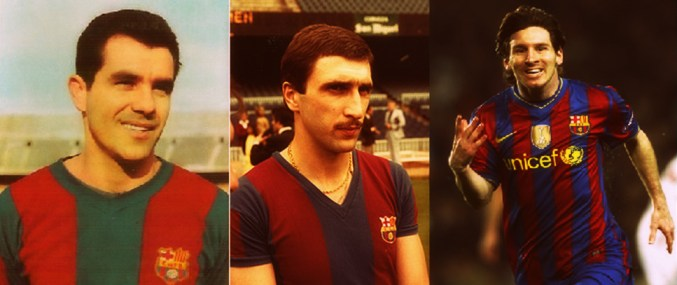 Macedo, Krankl and Messi (L to R), the three heroes