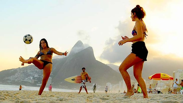 Ipanema Beach Football, Rio