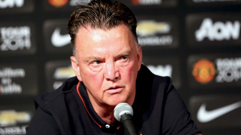 072314-Soccer-Manchester-United-Manager-Louis-van-Gaal-JW-PI