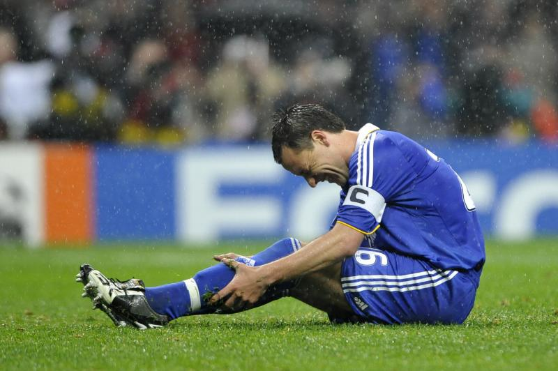 John Terry misses a penalty 21/5/2008
