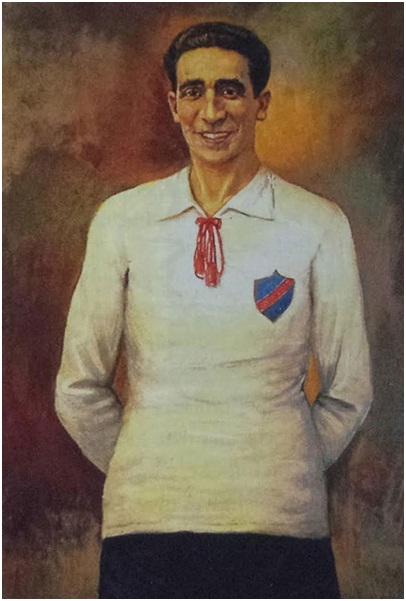 David Arellano became a key player for Chile in 1926