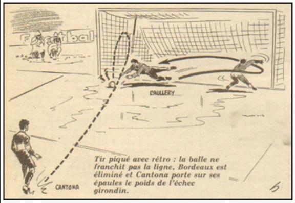 The shocking penalty kick