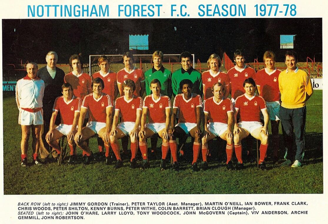 Nottingham forest 1977