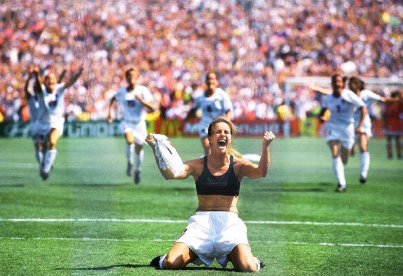Brandi Chastain: The Celebration