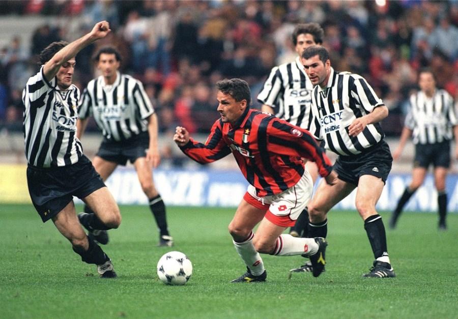 Baggio-Zidane-Juve-Milan