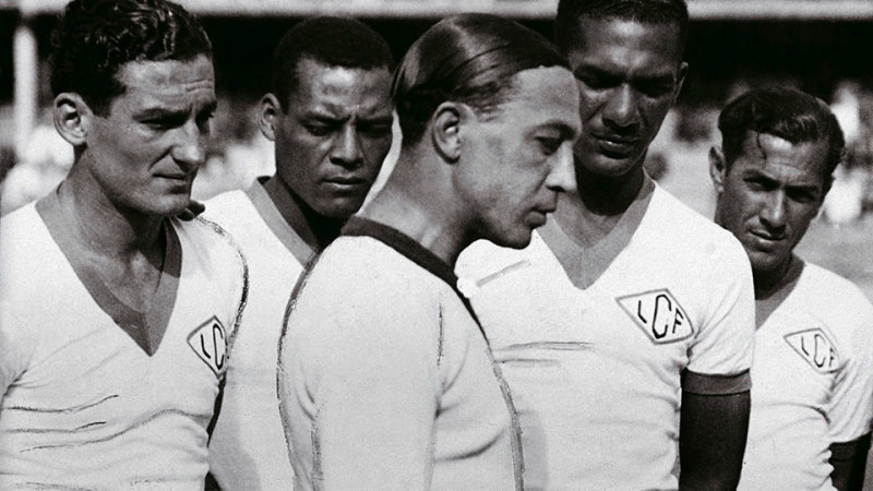 before Pele they had Arthur Friedenreich - the hero of Brazil's first Copa america triumph
