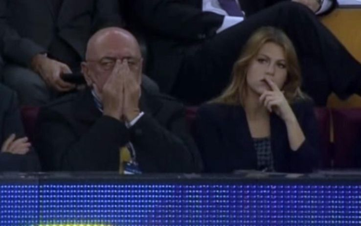 Barbara and Galliani is having problems between them. (Source- sport.sky.it)