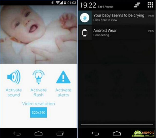 top 5 best baby monitor apps for android go android apps. Black Bedroom Furniture Sets. Home Design Ideas