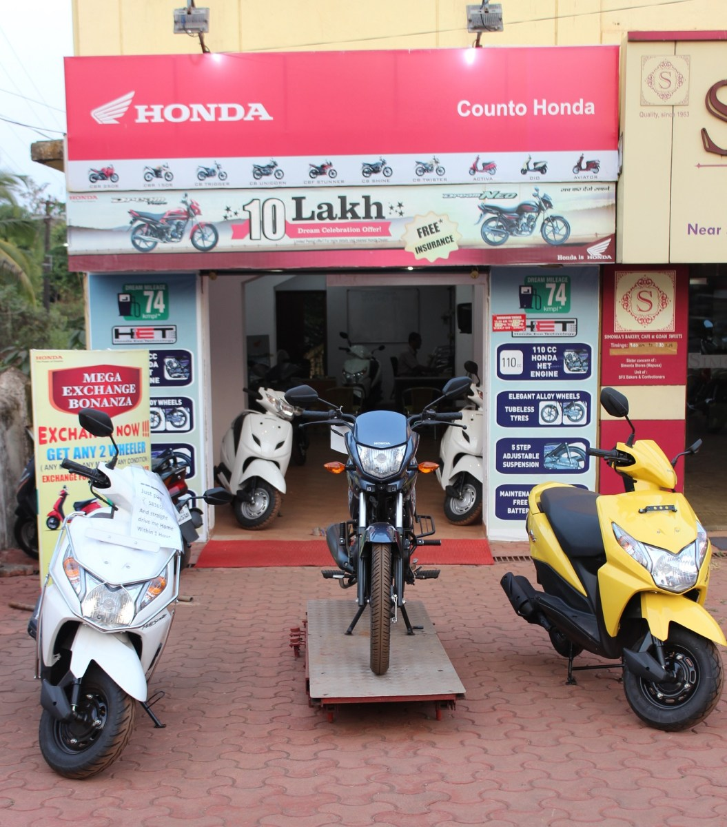 Counto Honda opens sales outlet in Porvorim, North Goa