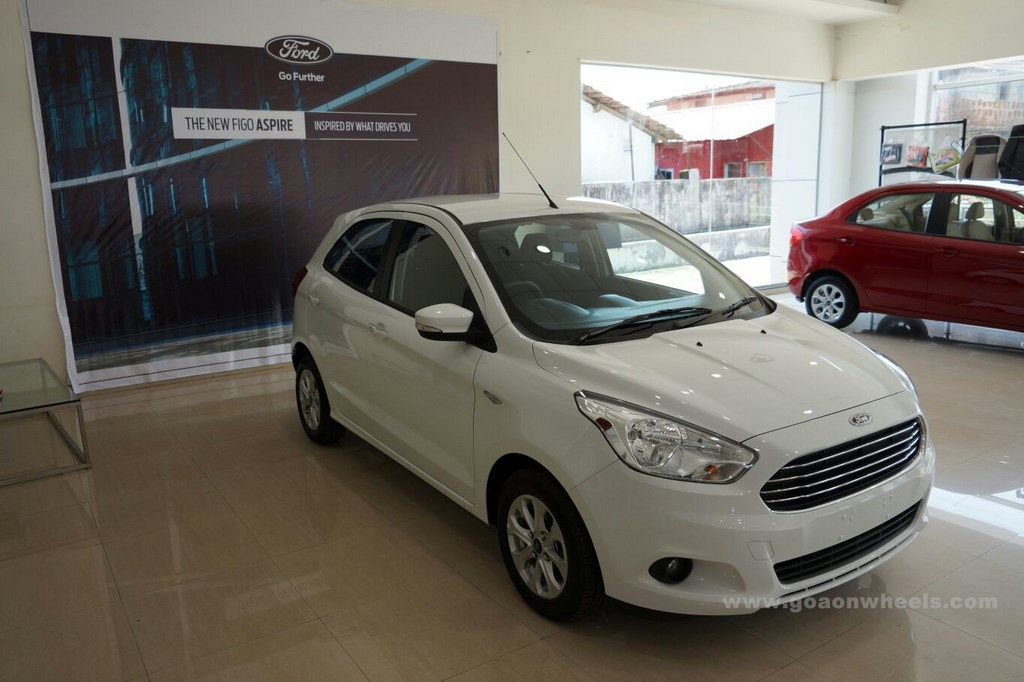 Ford Figo hatchback launched in Goa