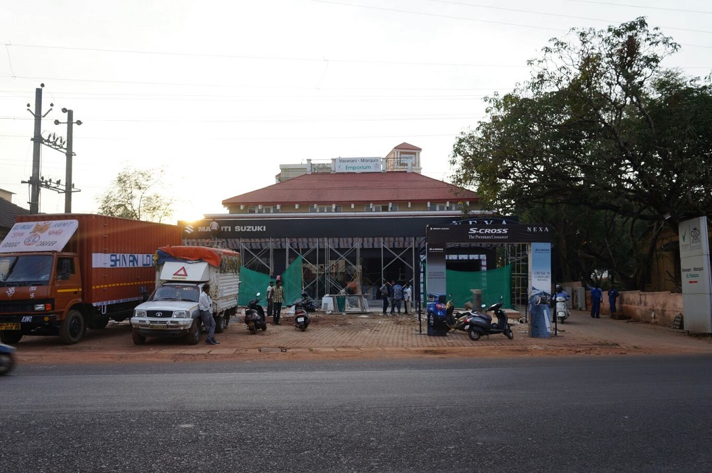 Maruti Suzuki NEXA dealership coming up in Porvorim-Goa