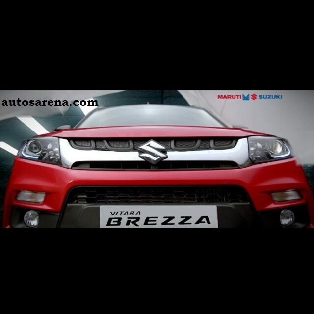 Fantastico Maruti Suzuki teases the Vitara Brezza ahead of Auto Expo debut