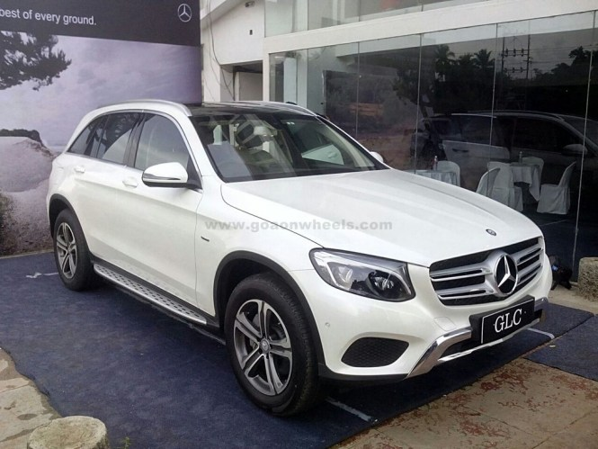 Mercedes benz glc class suv launched in goa for Mercedes benz glc class suv