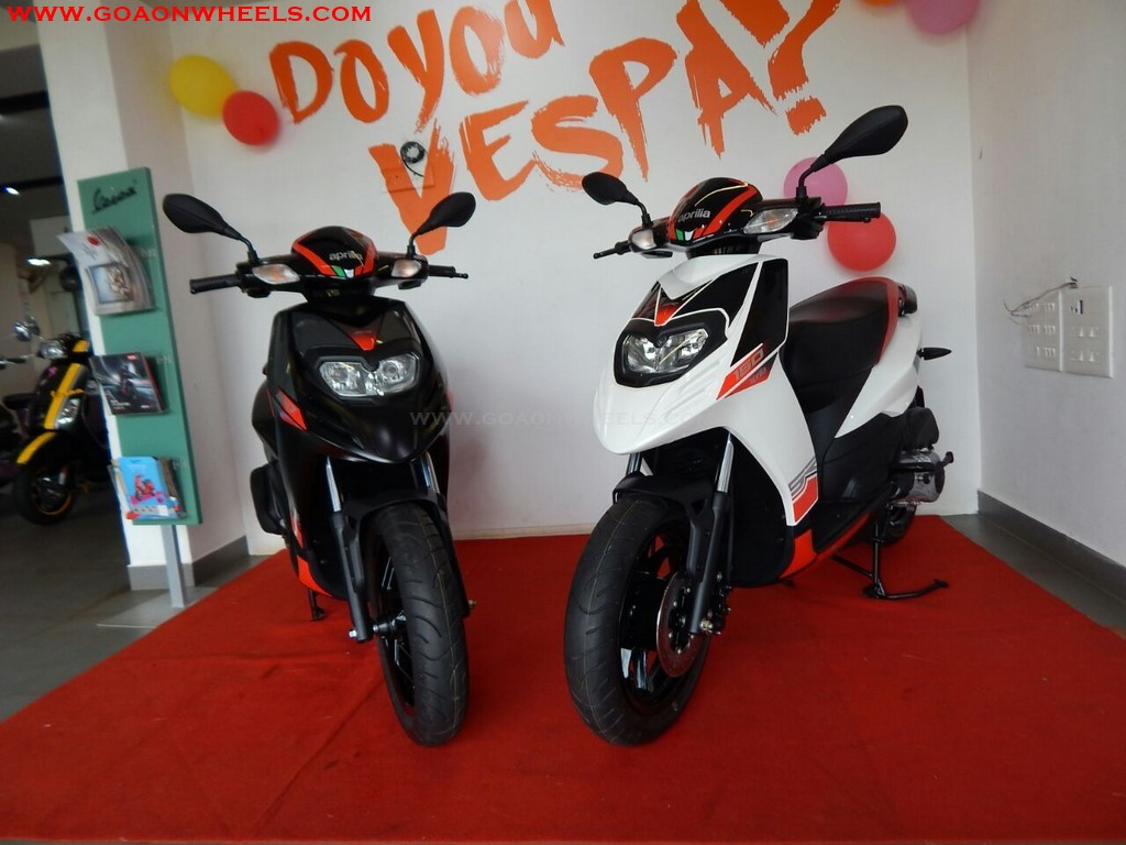 Aprilia SR 150 launched in Goa at Rs. 66,693