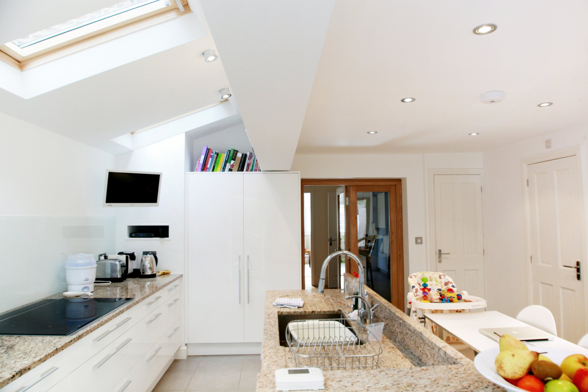 Kitchen Diner Extension Design Mid Terrace House Extension Ideas Taliesin Cardiff Specialists In