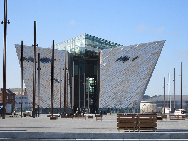 Exterior of the Titanic Belfast