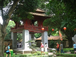 Visiting Hanoi's Temple of Literature