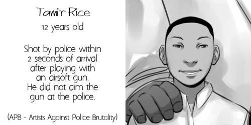 tamir rice -