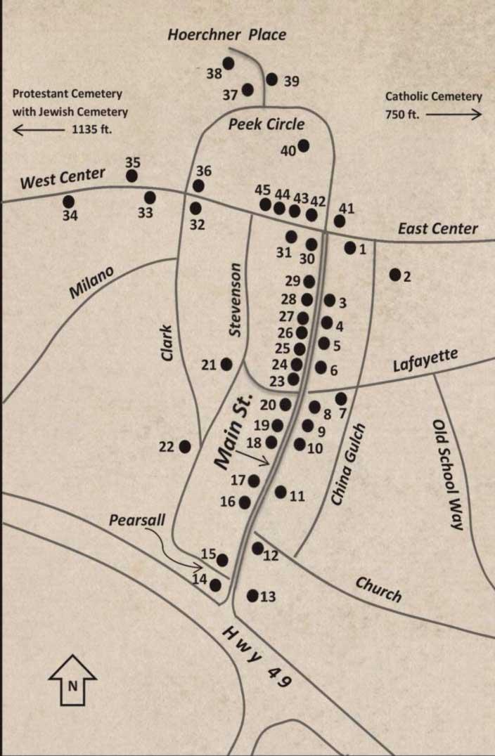 History  Culture Mokelumne Hill, Calaveras County, California